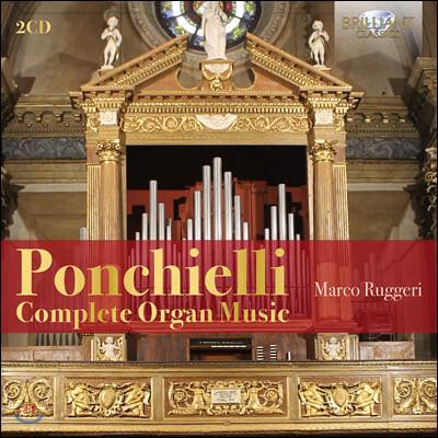 Marco Ruggeri 아밀카레 폰키엘리: 오르간곡집 전원곡, 제례의식용 소품들 (Ponchielli: Complete Organ Music)