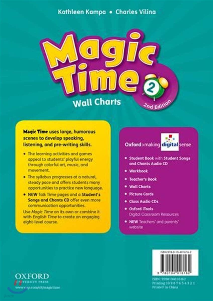 Magic Time 2 Wall Charts, 2/E
