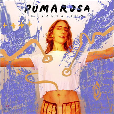 Pumarosa (퓨마로사) - 2집 Devastation [투명 오렌지 컬러 LP]