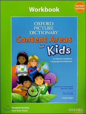 Oxford Picture Dictionary Content Areas for Kids Work Book (Content Area) 2E