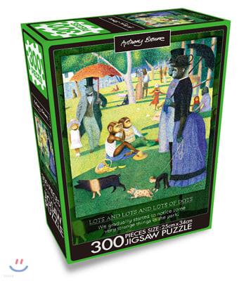 앤서니 브라운 300PCS 직소퍼즐 : 그랑자트섬의 윌리