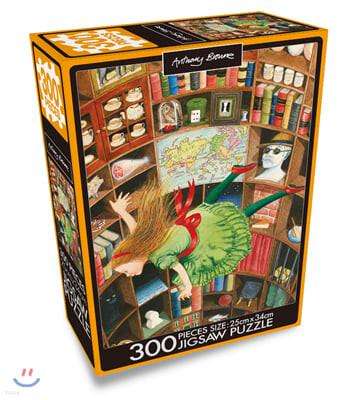 앤서니 브라운 300PCS 직소퍼즐 : 이상한 나라의 앨리스