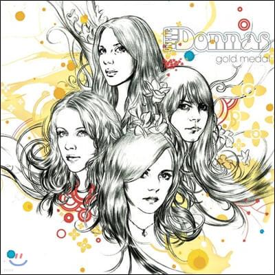The Donnas (더 도나스) - Gold Medal [블랙 & 골드 스플래터 컬러 LP]