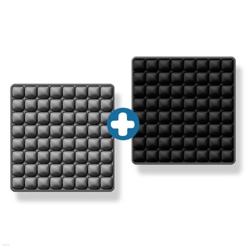 8x8 3D 입체엠보싱 바른자세 에어쿠션방석 1+1 ...