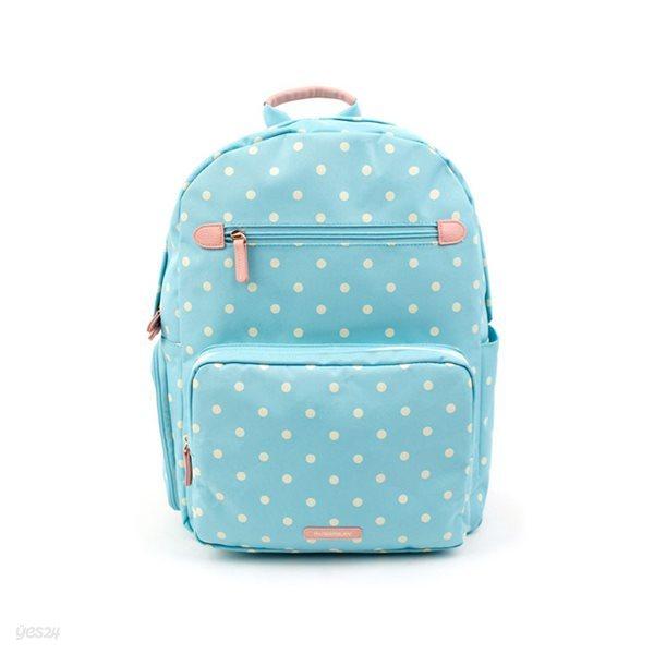 로라앨리 걸스 백팩 심플 민트 도트 초등학생 가방