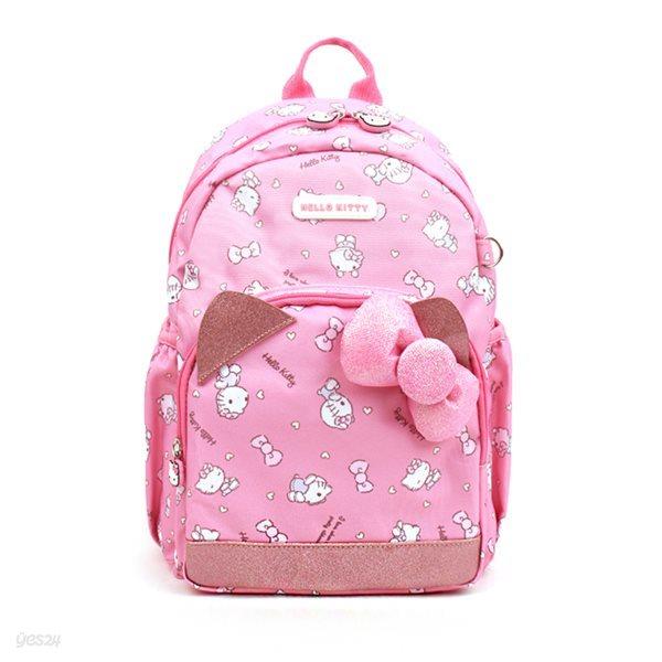 헬로키티 큐티 소풍 배낭 핑크 리본 백팩 HK0010