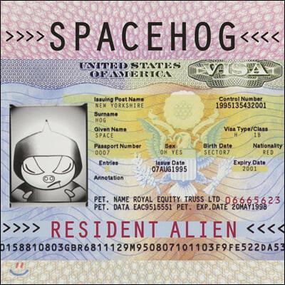 Spacehog (스페이스호그) - Resident Alien [크림 핑크 스플래터 컬러 2LP]