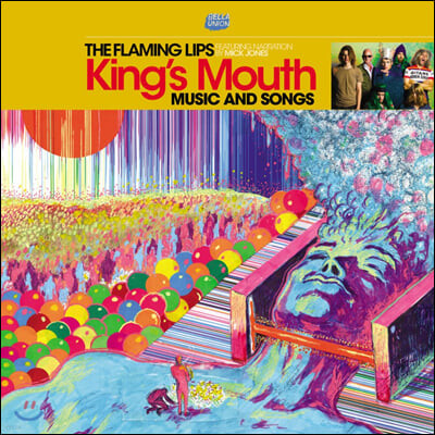 The Flaming Lips (플레이밍 립스) - 15집 King's Mouth [LP]