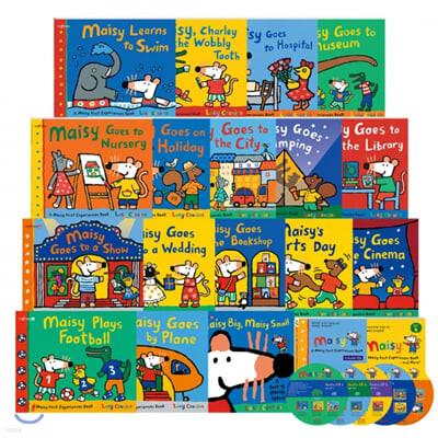 [세이펜] A Maisy First Experiences Book and More! 메이지 영어그림책 17종 : SET A+B 풀세트