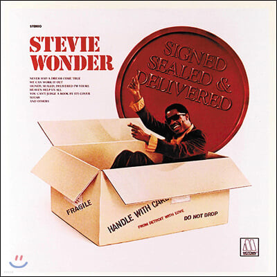 Stevie Wonder (스티비 원더) - Signed Sealed & Delivered [LP]
