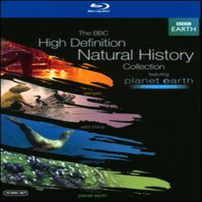 BBC Natural History Collection (Planet Earth: Special Edition / Galapagos / Ganges / Wild China) (한글무자막)(10Blu-ray) (2013)