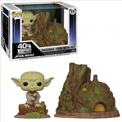 Funko - (펀코)Funko Pop! Town: Star Wars - Yoda`s Hut (스타워즈)(요다)