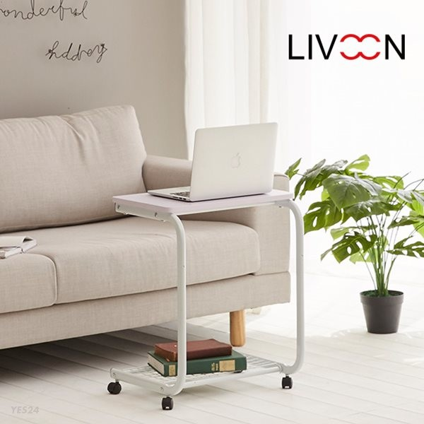 리브온(LIVOON) 너트 위드스 사이드테이블