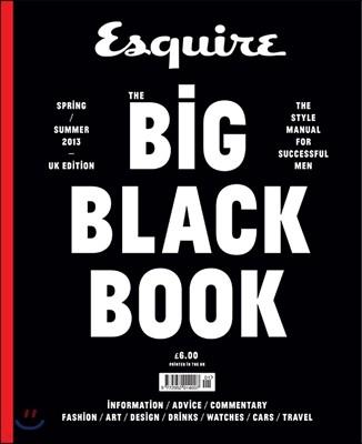 The Big Black Book (반년간) : 2013년 Spring /Summer