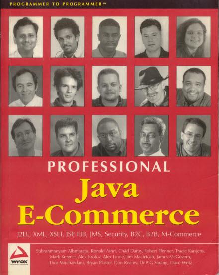 [영어원서] PROFESSIONAL Java E-Commerce