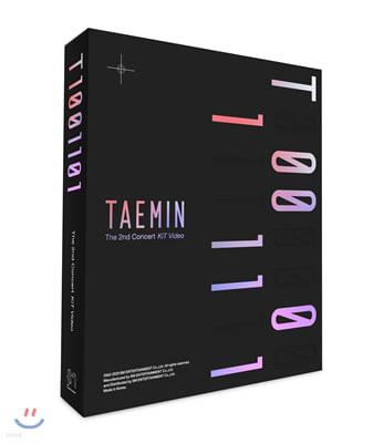 태민 (Taemin) - 2nd CONCERT - T1001101 [키트 비디오]
