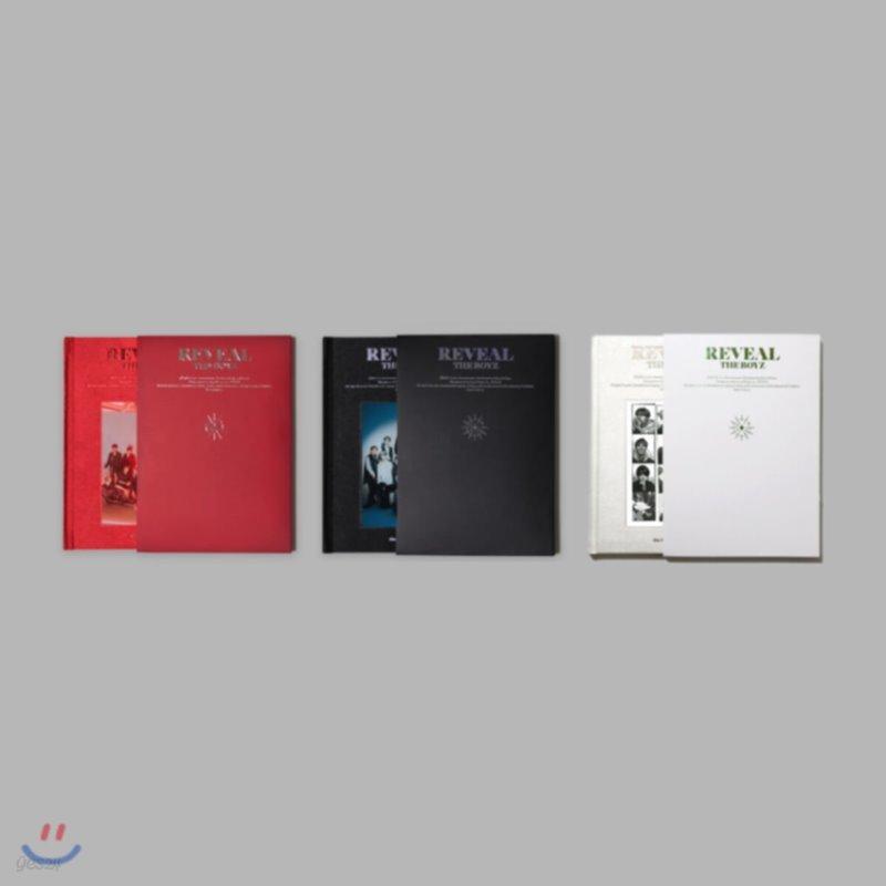 더보이즈 (The Boyz) 1집 - REVEAL [3종 SET]