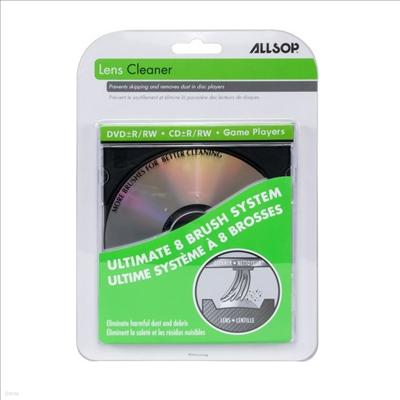 Allsop - Allsop 56500 Eight Brush CD Laser Lens Cleaner