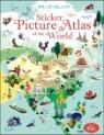 세계 그림 지도 스티커