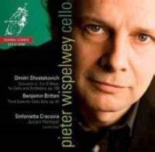 [미개봉][SACD] Pieter Wispelwey / 쇼스타코비치 : 첼로 협주곡 2번 G장조 & 브리튼 : 무반주 첼로 모음곡 3번 Op.87 (Shostakovich : Cello Concerto No.2 & Britten : Suite No.3 for cello solo, Op.87) (SACD H