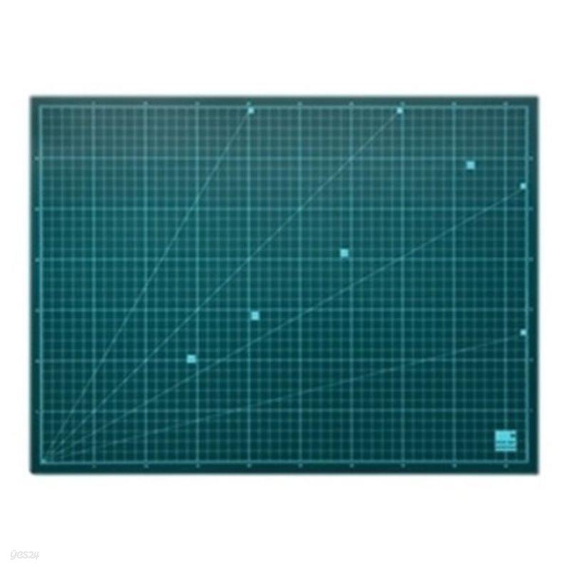 윈스타 녹색고무판 데스크매트 [대] DM202   630*440