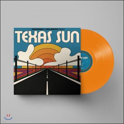 Khruangbin & Leon Bridges (크루앙빈 & 리온 브릿지스) - Texas Sun (EP) [투명 오렌지 컬러 LP]