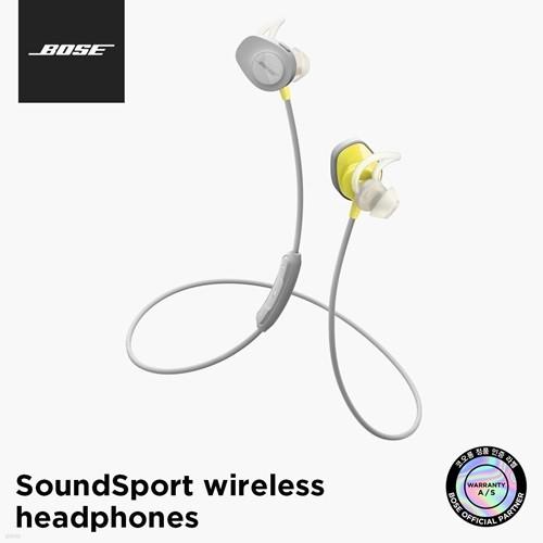 [BOSE] 보스 정품 SoundSport Wireless 블루투스...