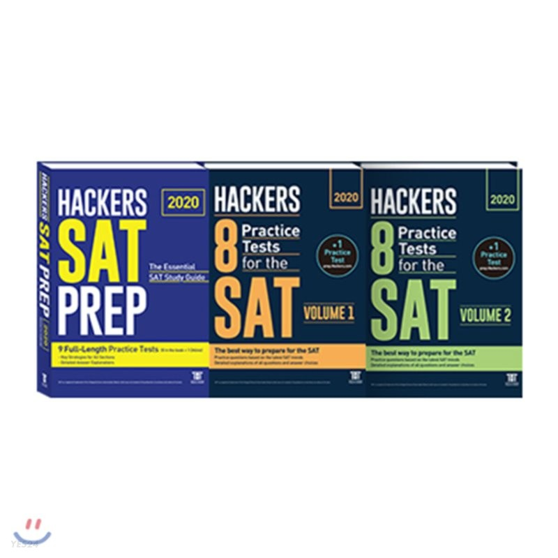 Hackers 8 Practice Tests for the SAT Volume 1~2권 + SAT PREP
