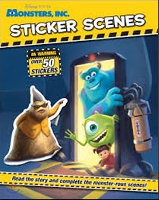 Disney Pixar Monsters Inc - Sticker Scenes