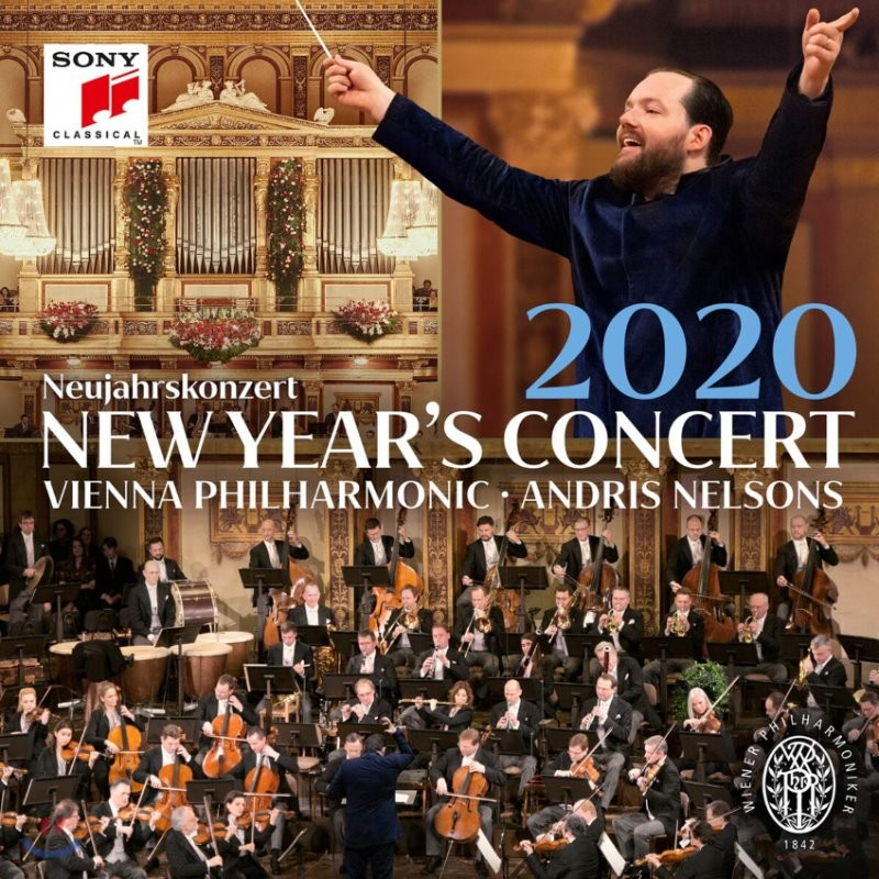 Andris Nelsons 2020 빈 신년음악회 - 안드리스 넬슨스, 빈필 (New Year's Concert 2020) [3LP]
