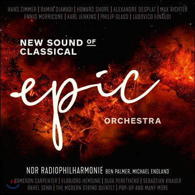 NDR Radiophilharmonie '에픽 오케스트라' - 현대 작곡가들의 작품 모음집 (Epic Orchestra - New Sound Of Classical) [2LP]