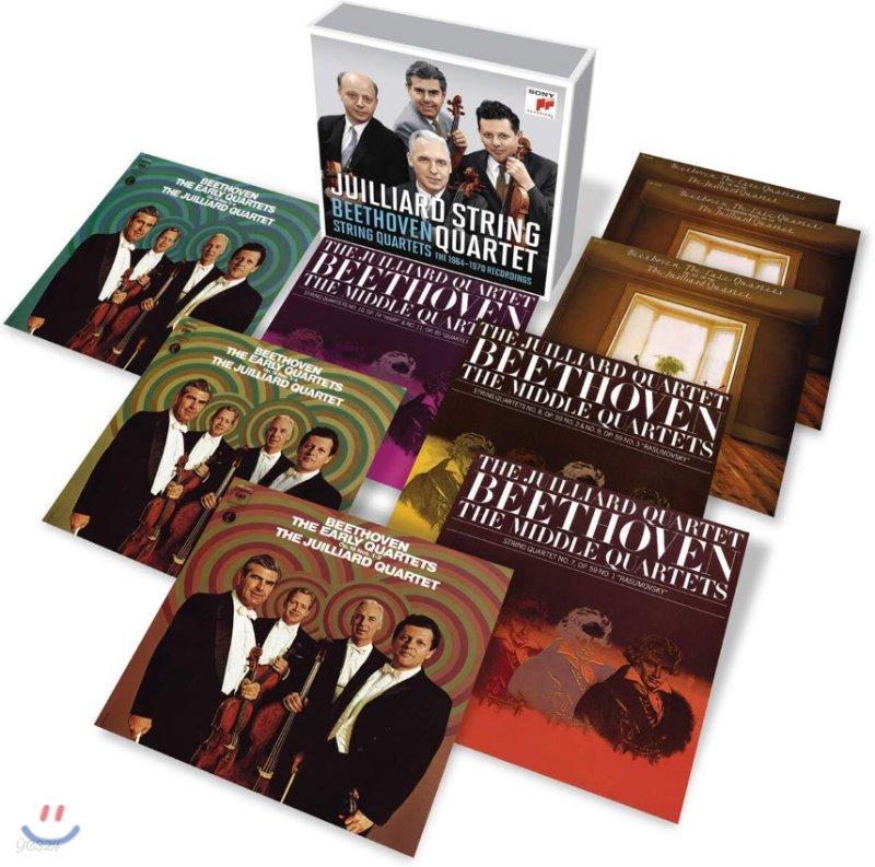 Juilliard String Quartet 베토벤: 현악 사중주 전집 (Beethoven: Complete String Quartets)