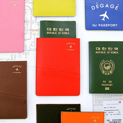 플랫 여권 케이스