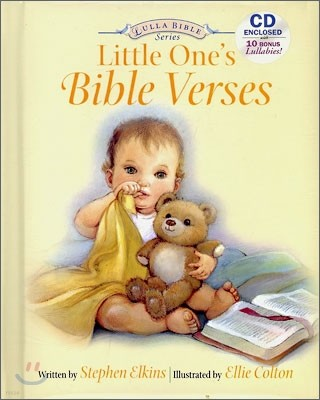 Little One's : Bible Verses (BOOK & CD)