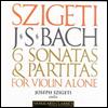 바흐 : 무반주 바이올린 소나타와 파르티타 (Bach : 6 Sonatas and Partitas for Solo Violin) (2CD) - Joseph Szigeti