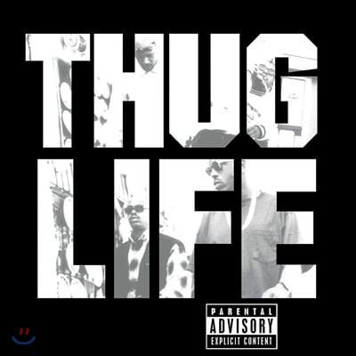 Thug Life (떠그 라이프) - 1집 Volume 1 (Featuring 2Pac) [LP]