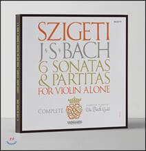 Joseph Szigeti 바흐: 무반주 바이올린을 위한 소나타와 파르티타 (Bach: Sonatas and Partitas for Unaccompanied Violin) [3LP]