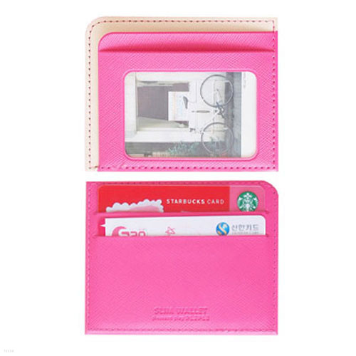 [pleple] slim wallet _ small size