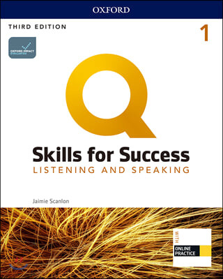 Q Skills for Success Listening & Speaking 1 : Student Book, 3/E