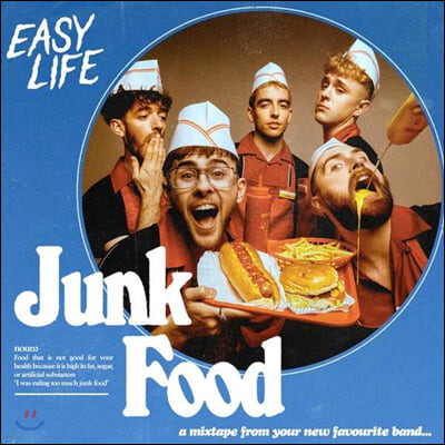 Easy Life (이지 라이프) - Junk Food (EP)