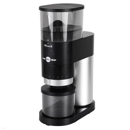 위즈웰 커피밀 전동 커피 그라인더 40단계 분쇄도 WSG-9400