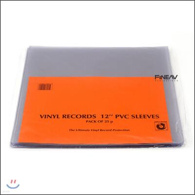 심플리 아날로그 레코드 외부 슬리브 LP 12인치 PVC (Simply Analog PVC Outer Sleeves)