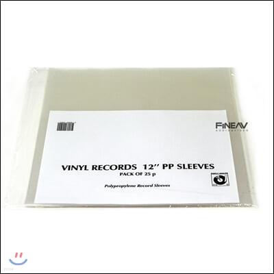 심플리 아날로그 레코드 외부 슬리브 LP 12인치 PP (Polypropilen) (Simply Analog PP Outer Heavy Sleeves)