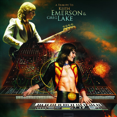 Various Artists - Tribute To Keith Emerson & Greg Lake (Ltd)(Colored LP)