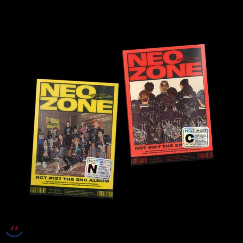 엔시티 127 (NCT 127) 정규 2집 - NCT #127 Neo Zone [N/C ver. 중 랜덤 발송]