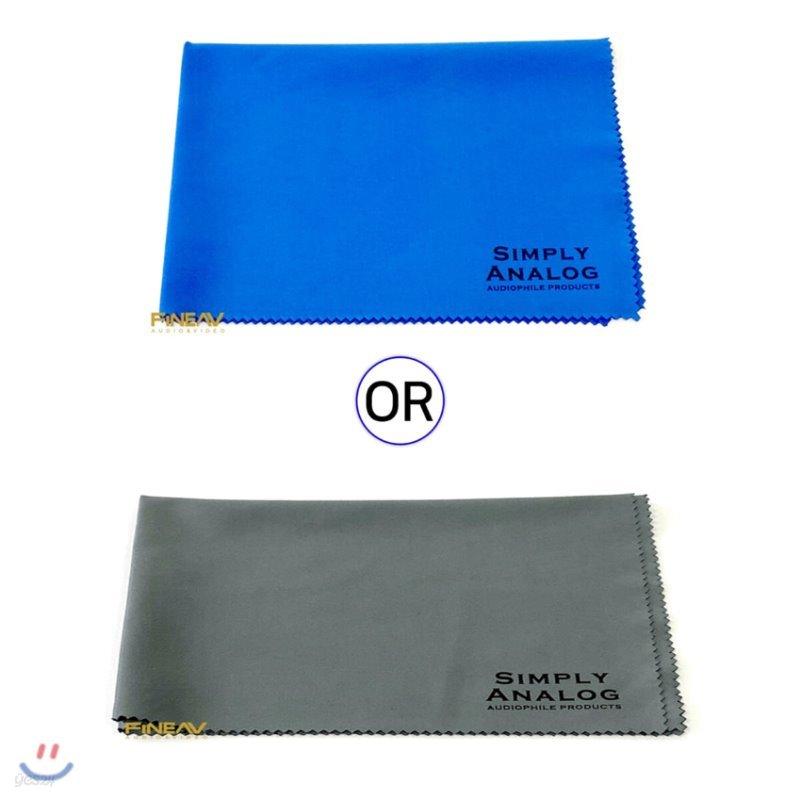 심플리 아날로그 레코드 극세사 천 (Simply Analog Microfiber Cloth Large 34.5cm x 25cm)