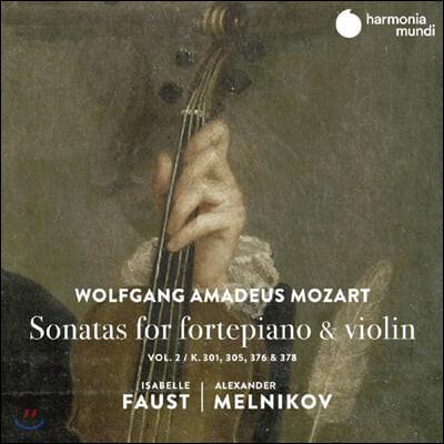 Isabelle Faust 모차르트: 바이올린 소나타 2집 K.301, 305, 376, 378 - 이자벨 파우스트
