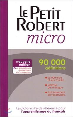 Le Petit Robert Micro