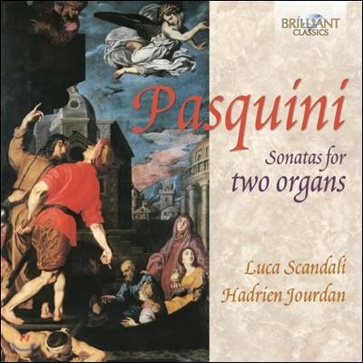 Luca Scandali 파스퀴니: 2대의 오르간 소나타 (Bernardo Pasquini: Sonata for 2 Organ)