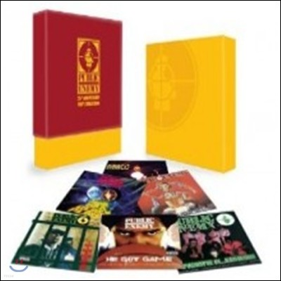 Public Enemy - 25th Anniversary Vinyl Collection